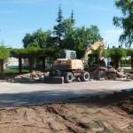 Manzanares: Comienzan las obras de rehabilitación de la plaza de la Divina Pastora