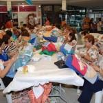 Alcázar de San Juan: Unas 150 encajeras se reúnen en el encuentro de la Asociación Dulcinea