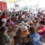 Más de 200 encajeras se sumaron al II Encuentro provincial de Villamayor de Calatrava