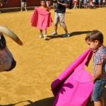 Ciudad Real: El encierro infantil se celebra finalmente sin vaquillas