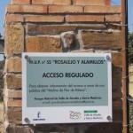 La dirección del Parque Natural del Valle de Alcudia cierra un camino recuperado recientemente por el Ayuntamiento de Hinojosas
