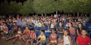Público en la primera edición del Rural Film Fest celebrado en Fuencaliente