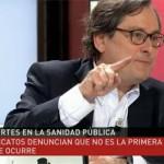 Marhuenda resta importancia al incidente en el hospital de Puertollano y arremete contra la alcaldesa: «Está en campaña electoral; el caso no es excepcional y hay cucarachas hasta en Suecia»