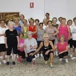 Argamasilla de Calatrava: Más de 70 mayores reciben clases de gimnasia