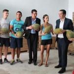 """Lucas-Torres: """"La Feria Regional del Melón de Membrilla supone un impulso muy importante para la exportación de este producto"""""""