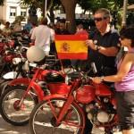 Feria de Ciudad Real: Guzzireal expone sus motos clásicas en la Plaza Cervantes