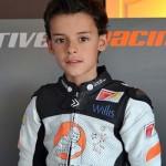 El joven piloto David García Almansa demostró sus dotes en la sexta prueba del Nacional Cuna de Campeones celebrada en Corral de Calatrava