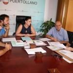 """Puertollano: Alcaldesa y subdelegado del Gobierno hablan de """"rebajar la sensación de inseguridad"""" en Las Mercedes a pesar de que los datos reflejan un descenso de la delincuencia"""
