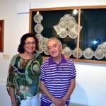 La exposición 'El arte del encaje' muestra en el Patio de Comedias de Torralba auténticas joyas desde el siglo XVIII