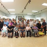 Miguelturra: Los usuarios del Servicio de Estancias Diurnas visitan la exposición «Vírgenes de la Estrella»