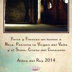 El programa de fiestas 2014 de Aldea del Rey, lleno de propuestas de todo tipo