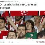 """Unos puertollaneros se convierten en la """"espectacular afición"""" del Athletic Club de Bilbao"""