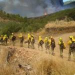 Tragsa sancionará a ocho trabajadores de las BRIF por utilizar su equipo en una marcha de protesta