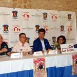 El rejoneador Luis Valdenebro y los diestros Luis Vilches y Rubén Pinar, junto al novillero daimieleño Carlos Aranda, forman el cartel taurino de la feria de Torralba