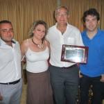 El Club Taurino de Puertollano homenajea a su expresidente, Andrés Mora