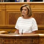Cospedal anuncia una bajada de impuestos en Castilla-La Mancha «que beneficiará  especialmente a las rentas medias y más bajas»
