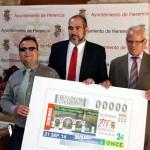 Ciudad Real: El cupón de la ONCE dedicado a Herencia toca en la propia localidad y en la capital de la provincia