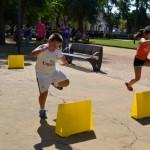 Daimiel: 50 niños participan en la III edición de 'Jugando al Atletismo'