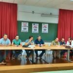 Trabajadoresde Elcogas y sus empresas auxiliares se reúnen en asamblea para perfilar los detalles de la huelga convocada para los días 1 y 2 de octubre