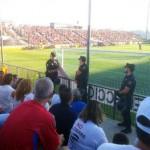 Puertollano: Bronca a la UEFA y la Federación Española tras la retirada de una pancarta de apoyo a Elcogas en el España-Austria