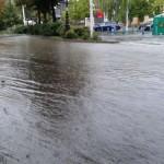 Puertollano: Las intensas lluvias provocan inundaciones en varios puntos de la ciudad