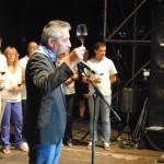 El alcalde de Valdepeñas inaugura con un brindis las LXI Fiestas del Vino