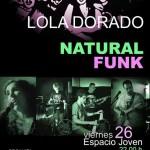 Ciudad Real: Concierto de Lola Dorado y Natural Funk en el Espacio Joven