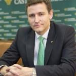 El director de Caja Rural Castilla-La Mancha traslada su pésame por el fallecimiento de Emilio Botín