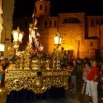 El traslado de Jesús del Perdón marca el inicio de las fiestas patronales de Manzanares