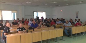 Asamblea de policías locales celebrada el pasado 11 de septiembre