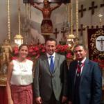 Ciudad Real y Malagón, unidas por el turismo y la religión: Rosa Romero asiste a la misa en honor al Cristo del Espíritu Santo