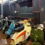 Noche de vespas y scooters en Ciudad Real