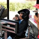 Emulando a Alonso en la UCLM: El rector queda segundo en la carrera inaugural y pregunta por el champán