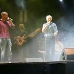 Almodóvar del Campo: José Manuel Soto compartió escenario con Los Rebujitos en el concierto preámbulo a las fiestas