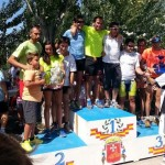 Más de un centenar de atletas se han dado cita en el Triatlón de Villarta de San Juan