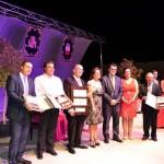 Cerca de 2.000 personas asisten a la inauguración del nuevo Auditorio de Villarrubia de los Ojos y gala de apertura de sus fiestas patronales 2014