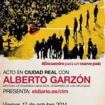 Alberto Garzón (IU) participará en un acto en Ciudad Real el próximo viernes