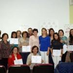Lola Merino inauguró ayer en Villarrubia de los Ojos uno de los quince talleres de sensibilización que AMFAR imparte en la provincia de Ciudad Real