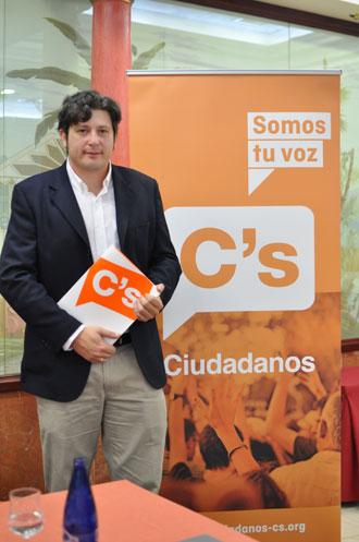 Pedro Fernández, coordinador provincial de Ciudadanos