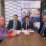 CEAT Ciudad Real firma un convenio con ASISA para los autónomos de la provincia