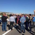 Puertollano: Los trabajadores de Encasur se concentran en Madrid ante las instalaciones de Endesa