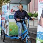 Ciudad Real: Envíos Rápidos, una empresa de reparto low cost y, ahora, también ecológico