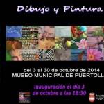 Trece alumnas del taller pictórico de Emi Vozmediano exponen sus trabajos en el Museo de Puertollano