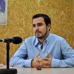 """Alberto Garzón (IU): """"Vimos un desacople entre la movilización en la calle y los resultados electorales que hay que corregir"""""""