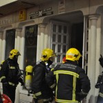Ciudad Real: Incendio en un comercio de la calle Montesa