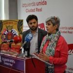 Primarias en IU Ciudad Real: Jorge Fernández propone a Carmen Soánez como candidata a la Alcaldía