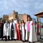 Doña Jimena y cientos de visitantes rondan por Calatrava La Vieja este fin de semana