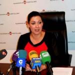 """Mayte Fernández asegura que """"lo justo"""" es no subir la presión fiscal a los ciudadanos de Puertollano"""