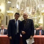 """Monseñor Astillero recibe la Medalla de Honor """"Ciudad de Daimiel"""""""