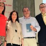 La alcaldesa asiste a la gala-presentación de los equipos del Balonmano Caserío Ciudad Real